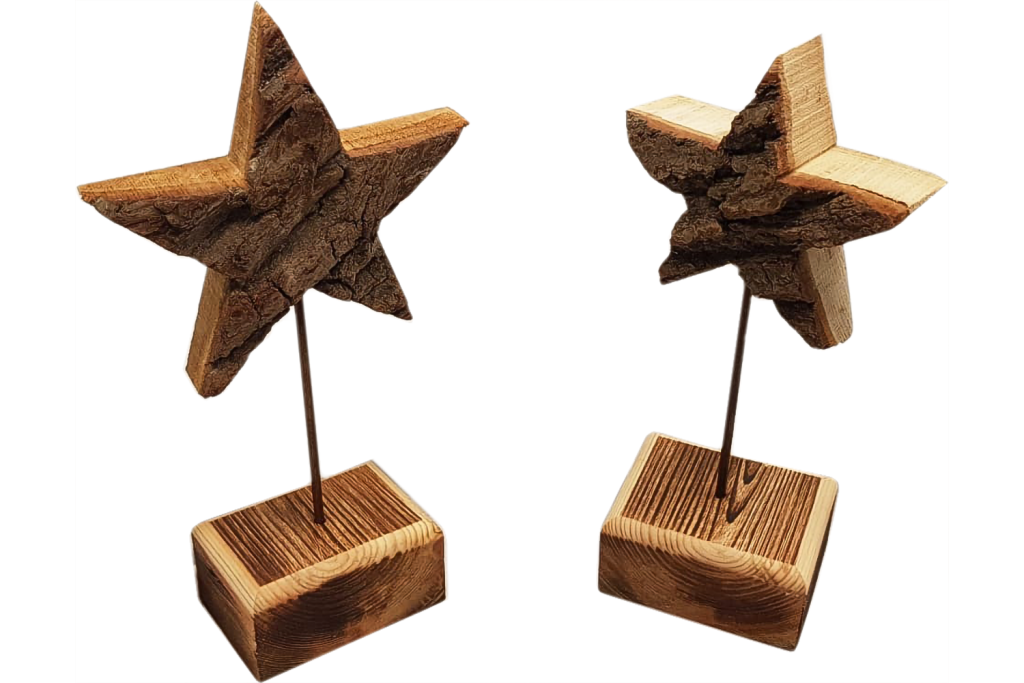zwei Sterne